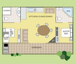 Sydney Entertainment Centre Floor Plan Palm Villa Big4 North Star Holiday Resort Nsw