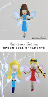 rainbow magic spoon doll ornaments rainbow magic fairies