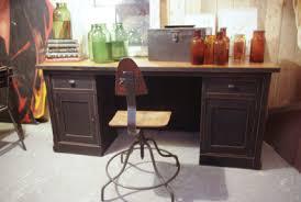 repeindre un bureau en bois bureau en bois ancien great bureau de comptable en bois