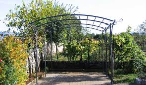Steel Pergola Kits by My Landscaping Collection Garden Pergolas Uk