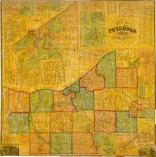 map of cleveland map of cuyahoga county ohio map from actual surveys 1858