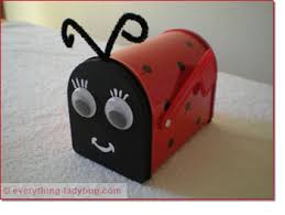 mailbox craft everything ladybug the source for ladybug stuff