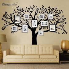 aliexpress com buy huge family photos tree vinyl wall stickers aliexpress com buy huge family photos tree vinyl wall stickers black tree branches decals wallpaper wall sticker for living room sofa home decor from