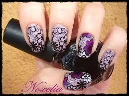 imagenes de uñas decoradas con konad noxelia sting nail art colaboración con dixnails y look de uñas