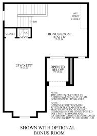 coastal oaks at nocatee heritage collection the mandigo home optional bonus room floor plan
