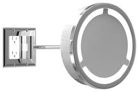 Bathroom Vanity Light With Outlet Bathroom Vanity Lights With Electrical Outlet Www Islandbjj Us