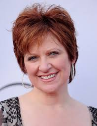 red hair for over 50 caroline manzo layered short red hairstyle for women over 50s