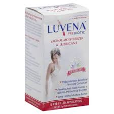 luvena restorative vaginal moisturizer 6 count pre filled applicators