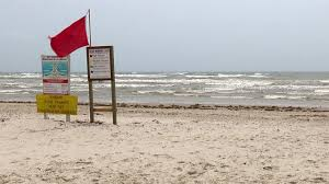 Beach Red Flag High Levels Of Fecal Bacteria Reported Along Texas Coast