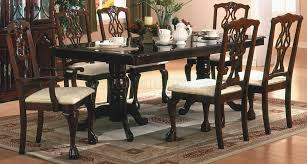 finish classic 5pc dining room set w optional items
