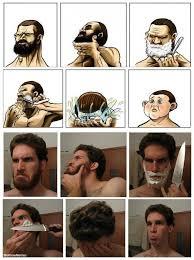 Beard Shaving Meme - why bearded men shouldn t shave confirmed meme funny goblin
