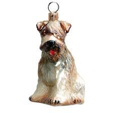 coated wheaten terrier jtw ornament