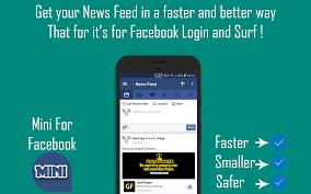 mini for facebook u0026 messenger mini fb apk download android