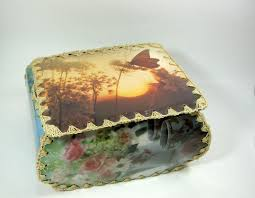 76 best vintage card crochet boxes images on card