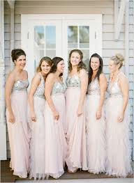 bridesmaid dress ideas 2016 wedding trends sequined and metallic bridesmaid dresses