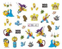 simpsons decorations etsy