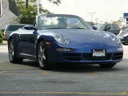 porsche 911 convertible 2005 2005 cobalt blue metallic porsche 911 carrera cabriolet 37997