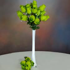Long Stem Flowers 84 Xl Velvet Rose Buds Long Stems Bushes Wedding Craft Party
