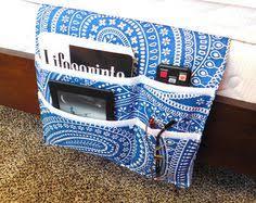 Armchair Remote Caddy Denim Sofa Organizer Remote Control Organizer Fabric Remote Caddy