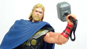 thor the dark world battle hammer thor figure review youtube