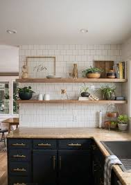 light grey kitchen cabinets with wood countertops 3 kitchen countertop trends and 25 exles digsdigs