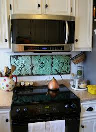 diy stove backsplash cool place to add some color i like the