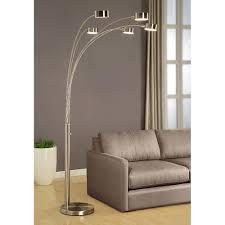 Cheap Crystal Floor Lamps Amazon Com Artiva Usa Micah Modern U0026 Stylish 5 Arc Brushed