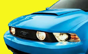 ford mustang scoops 2010 2012 mustang factory style scoop primered paint options