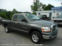 2006 dodge ram 1500 4x4 for sale 2006 dodge ram 1500 quadcab slt 4x4 for sale in baltimore md