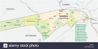 Botswana Map Namibia Botswana Africa Map Stock Photos U0026 Namibia Botswana Africa
