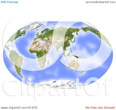 India On A World Map by Royalty Free Rf Clipart Illustration Of A World Map Shaded