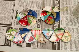 diy card ornaments with free cut file unoriginal