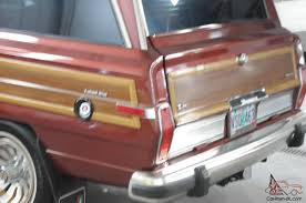 jeep grand wagoneer 1 owner 50 000 miles immaculate