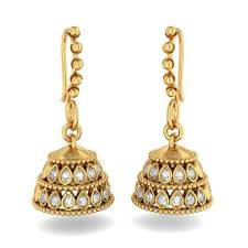gold jhumka earrings design how to buy gold jhumka earring designs myjewelrydeals sterling