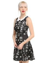 the nightmare before collar dress hi res stuff that