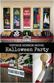 Halloween Party Entertainment Ideas - right at home ideas for a fun hollywood themed party home