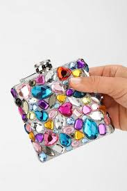 his and flasks 35 best bedazzled images on flasks bridesmaid gifts