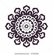 mandala islam arabic asian ornamental motifs stock vector 377381389