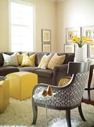 yellow livingroom living room brown and yellow living room ideas unique brown and
