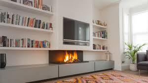 contemporary fireplace binhminh decoration