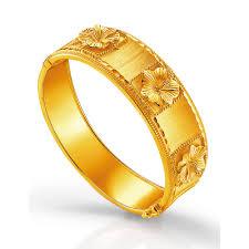 anting emas 24 karat bracelet poh kong
