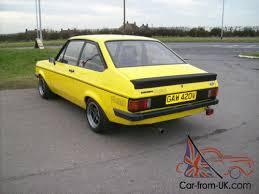 Mk2 Escort Rs2000 Interior Escort Rs2000 Custom Mk2 1980