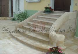 french limestone treads and risers for staircase