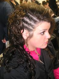 black natural braided mohawk hairstyles