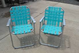 Vintage Aluminum Folding Chairs The Adventures Of Two Pyrex Crazy Thrifting Sisters