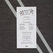 wedding order of service wording template what to include u0026 examples