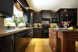 black cupboards kitchen ideas cabinets abundantlifestyle club