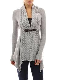 womens sweater s sweater asymmetrical hemline pale gray
