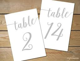 silver wedding table numbers silver wedding table numbers 1 30 instant download bella script