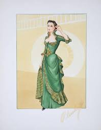 walter plunkett u0027s collectible works of fashion artistry